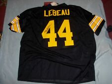 Dick LeBeau, Signed Pgh Steelers, Black Custom #44 Jersey, Size 4XL, w/Tag