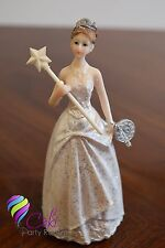 QUINCEANERA 15 BIRTHDAY SWEET 16 CAKE TOPPER PARTY DECORATION FIGURINE FAVOR 6""
