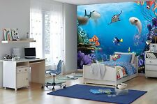 Giant wallpaper 368x254cm Finding Dory Disney boys & girls bedroom wall mural