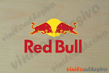 PEGATINA STICKER VINILO Red Bull F1 energy drink unidad