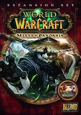 * PC NEW SEALED Game * WORLD OF WARCRAFT Mists of Pandaria Expansion * UK