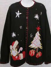 In resource Cardigan Large Teddy Bear  Decoration Tree Ugly Christmas Sweater PL
