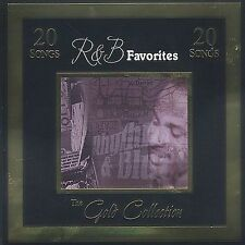 Gold Collection: R&B Favorites by Various Artists (CD, Apr-2007, St. Clair)