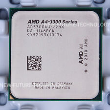 AMD A4-Series A4-3300 (AD3300OJZ22HX) CPU Processor 2.5 GHz Socket FM1 100% OK