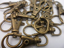20 x Large Bronze Swivel Lobster Clasps, 35mm long x 15mm wide~Craft,Findings