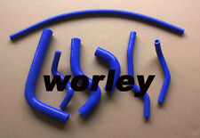 Silicone radiator heater hose for SUZUKI SAMURAI 1986-1995 Blue