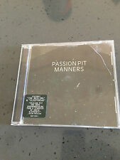 Manners by Passion Pit (CD, May-2009, Frenchkiss Records)