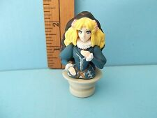 "#235 Unknown Characters 2.5""in PVC Figure Sexy Blond and Black Haired Women Bust"