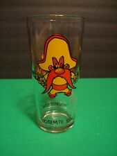 "Vintage 1973 YOSEMITE SAM 6 1/4"" Pepsi Warner Collector Series Glass"