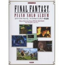 Final Fantasy Piano Solo Album sheet music collection book