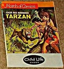 MARCH OF COMICS 366 TARZAN RARE GIVEAWAY PROMO VG- 1972 MINI PROMOTION