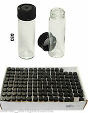 """(144) SMALl MINI 1-3/4"""" GLASS VIALS BOTTLE FOR YOUR GOLD PAN GOLD! GB3"""