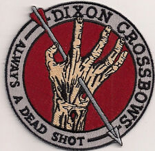 "Walking Dead- Dixon Crossbows  3"" Embroidered Patch- FREE S&H (WDPA-04)"
