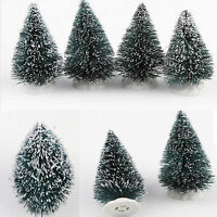 New Mini ChristmasSnow Tree Small Pine Tree Placed In The Desktop Drop Gift
