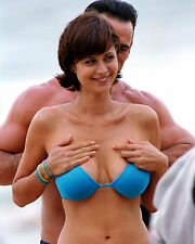 Catherine Bell 8x10 Blue Bikini photo #3