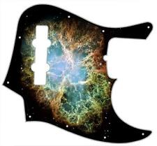 J Jazz Bass Pickguard Custom Fender Graphic Graphical Guitar Pick Guard Nebula 1