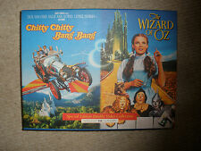 Coleccionables Vintage En Caja Set 2 Videos. Mago De Oz & Chitty Chitty Bang Bang,.