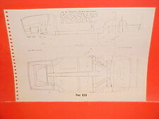 1971 FIAT 850 CONVERTIBLE RACER 124 SPIDER COUPE SEDAN FRAME DIMENSION CHART