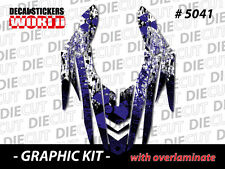 *NEW* SNOWMOBILE SLED RX1 RX-1 03 to 06  WRAP GRAPHIC DECAL STICKER KIT 5041