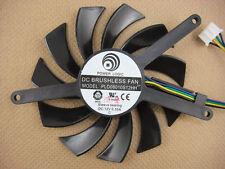 75mm VGA Video Card Fan For GTX460 2WIN GTX 560 TI PLD08010S12HH 177-3