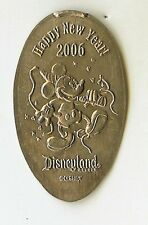Disney 2006 Mickey Happy New Year Dlr Pressed Elongated Nickel Dl0339 Retired