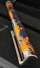 ST DUPONT CASA FENOGLIO LIMITED EDITION FOUNTAIN PEN BLUE LACQUER PALLADIUM