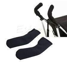 2x Baby Stroller/Pram/Buggy/Pushchair Soft Handle Bumble Bar Grip Cover SALE