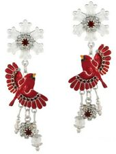 Lunch at The Ritz Earwear Inc. USA   Snow Bird Earrings Posts