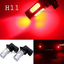 Red 11W CREE High Power Projector LED H9 H8 H11 HID Fog Driving Light Lamp Bulb