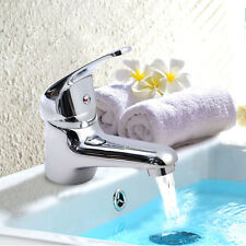 Goplus Chrome Kitchen Bathroom Wash Basin Faucet Bath Hot/Cold Mixer Water Tap