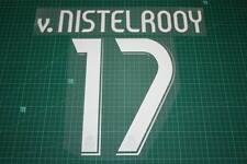 Real Madrid 06/07 #17 v. NISTELROOY Awaykit / 3rd Awaykit Nameset Printing