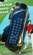 NEW Radio Shack 3 In 1 Universal Remote Control Golf Bag Game Room Easy To Spot