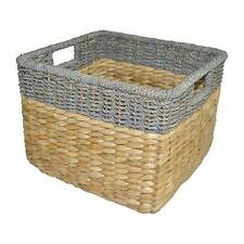 Seagrass Rectangular Wicker Storage Basket - Threshold™