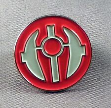 Metal Enamel Pin Badge Brooch Star Wars Starwars SW Sith Order Red and White