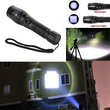 Zoomable 5000 Lumen 5 Modes CREE XML T6 LED flashlight Torch Lamp Light 18650