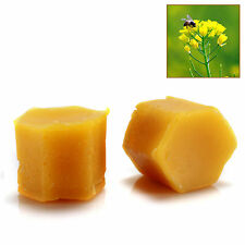 Organic  Beeswax Cosmetic Grade Filtered Natural Pure Yellow Bees wax 10 PCS