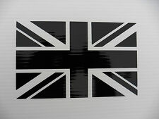 Union Jack Bandiera Inglese Auto Decalcomania Divertente Vinile Adesivi Van Paraurti Decalcomania 5342black