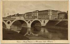 Primi anni 1900 Roma - Ponte Cittorio e Ministero della Marina - FP B/N