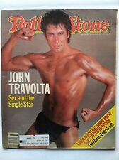 ROLLING STONE MAGAZINE JOHN TRAVOLTA SEX AND SINGLE STAR AUGUST 1983 #402