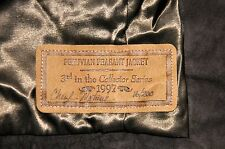 DOUBLE D RANCH COLLECTOR SERIES BROWN SUEDE JACKET SIGNED BY CHERYL MATUSEK - S