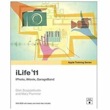 Apple Training Series: iLife '11, Dion Scoppettuolo, Mary Plummer, Good Book