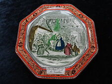 C1930s Adams Plate - Pickwick Papers - Christmas Eve at Mr Wardles