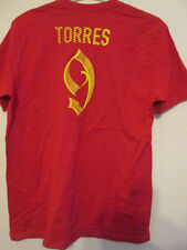 Torres 9 Ltd Edition Football T Shirt Size Large /35371 Spain Atletico Madrid