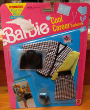 "Very Rare NEW 1991 BARBIE ""Cool Career Fashions""~BUSINESS WOMAN~#5789~Styish Set"