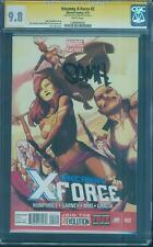 Uncanny X Force 2 CGC 9.8 SS Sam Humphries Psylocke Apocalypse Movie Top 1 Anka