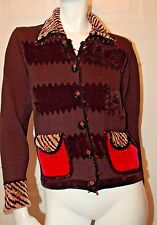 Jack B Quick Beaded Designed Cardigan Sz PS
