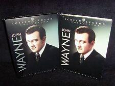 John Wayne: Screen Legend Collection (DVD, 2007, 3-Disc Set) Mint!•No Scratches!