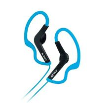 Sony MDR-AS200BLU Active Series Earbud Ear-Clip Headphones MDRAS200 Blue