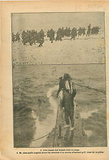 Soldier Imperial Russia Army/Royal Navy Kaiserliche Marine WWI 1916 ILLUSTRATION