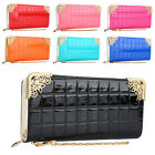 New Fashion Lady's PU Zip Bag Long Purse Clutch Wallet Credit Card Holder 7Color